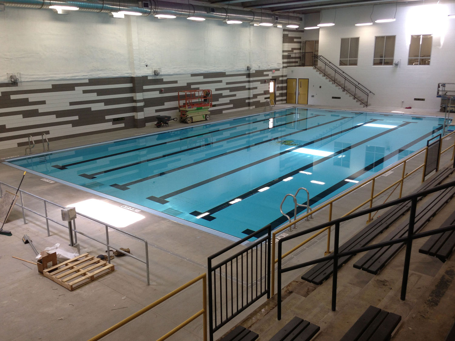 Central high school pool renovation louisville ky eh - University of louisville swimming pool ...